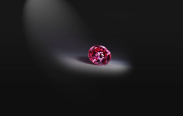 Red Diamond from Argyle Mine