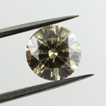 Fancy Gray Greenish Yellow, 1.13 carat, SI1
