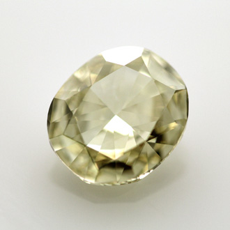 Fancy Light Brownish Yellow Diamond, Cushion, 1.70 carat, VS1 - B