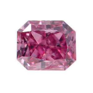 Fancy Vivid Purplish Pink, 0.08 carat