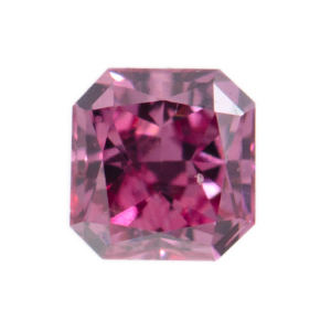 Fancy Vivid Purplish Pink, 0.07 carat