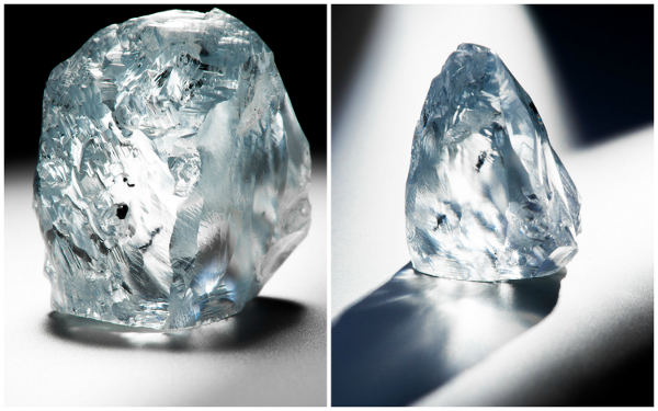 122.52 carat Blue Diamond Discovered by Petra Diamonds