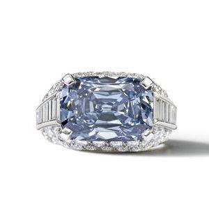 bulgari blue diamond ring