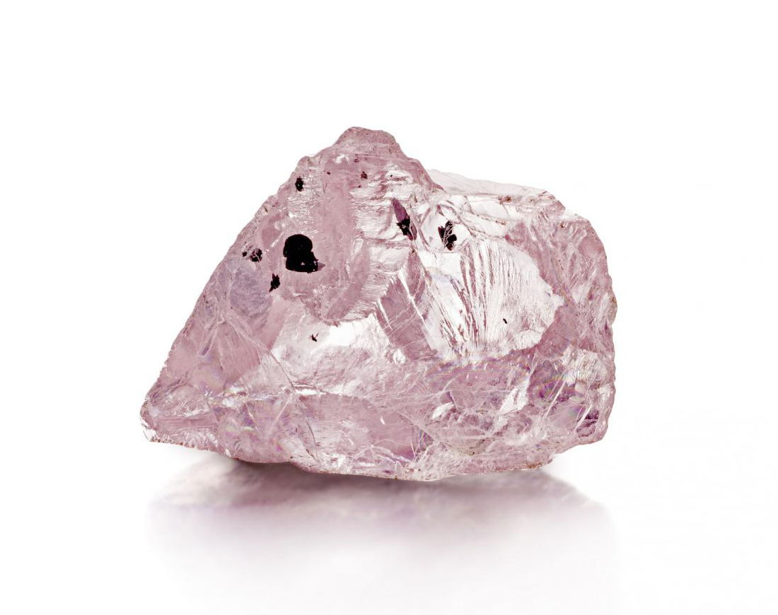 23 carat pink diamond rough by Petra Diamonds