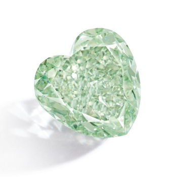 4.90ct Intense Green Diamond