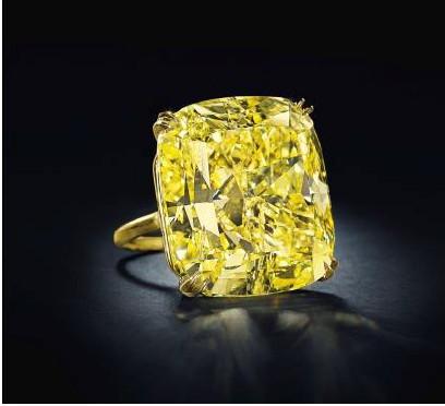 75 carat vivid yellow diamond