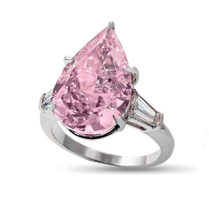 9.14ct Vivid Pink Diamond estimated at $18 Million