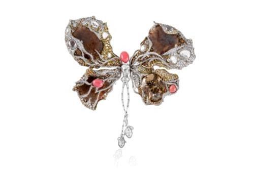 Ballerina Butterfly Brooch