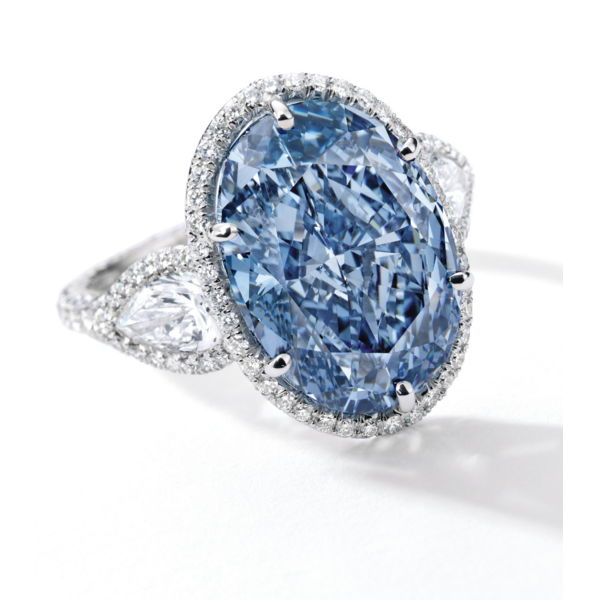 De Beers Millennium Jewel 4 - 10.10ct Vivid Blue Diamond