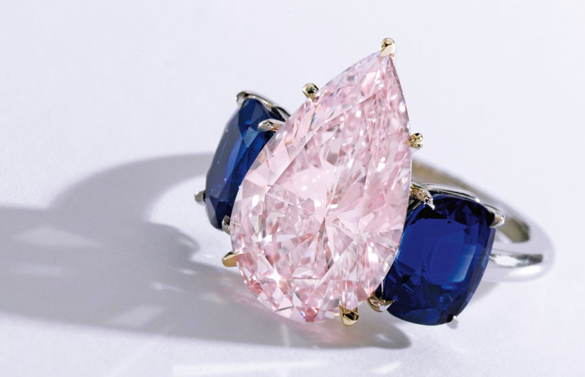 Fancy Purplish Pink Diamond Ring, 6.24ct by Sotheby's