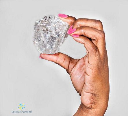 Lesedi La Rona Diamond Size by Lucara