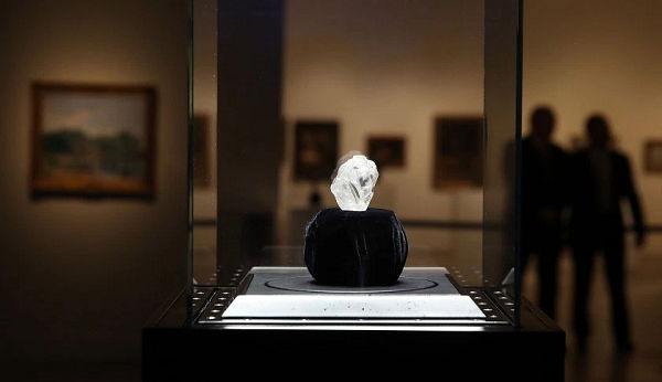 The Lesedi La Rona Diamond by Lucara