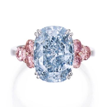 The Monarch Blue Diamond by Sothebys