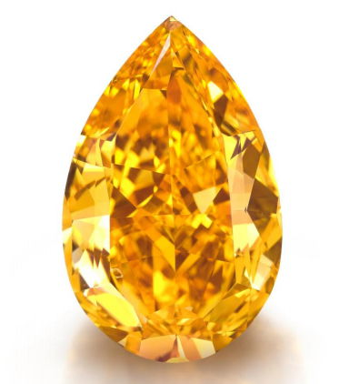 The Orange - Largest Vivid Orange Diamond Ever