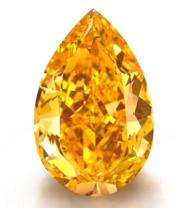 The Orange - 14.82 carat vivid orange diamond