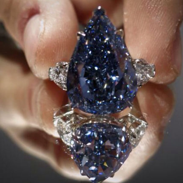 The Perfect Blue Diamond