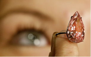 The Unique Pink being Examined