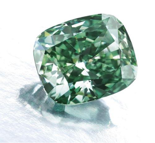 Vivid Green Diamond 2.54 carat