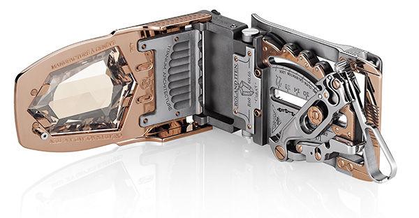 Most Expensive Belt r60-Diablo open by Roland Iten