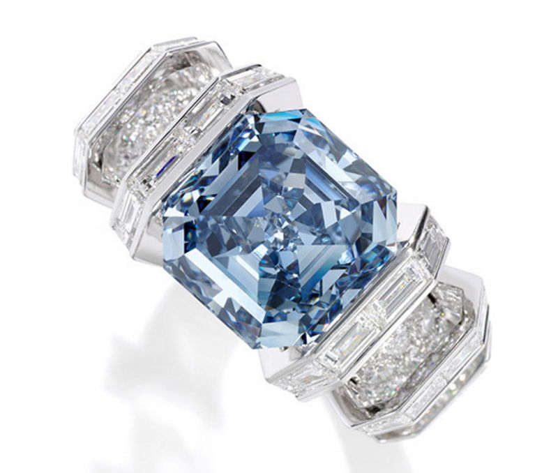 blue purchased for auction boot cnn car rings ring oppenheimer index full style super sells article sale diamond