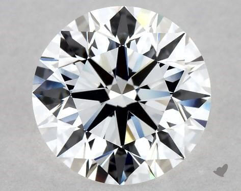 Round 2 carat diamond, D Flawless worth $56,480