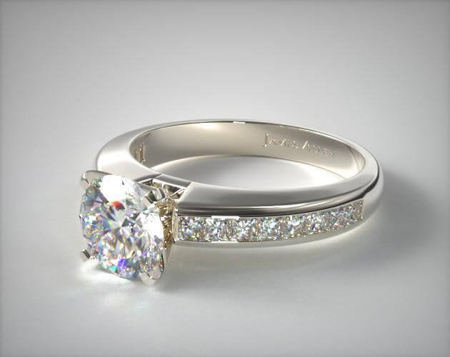 2 Carat Channel Set Diamonds Ring