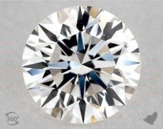 H Diamond Color, Excellent Cut