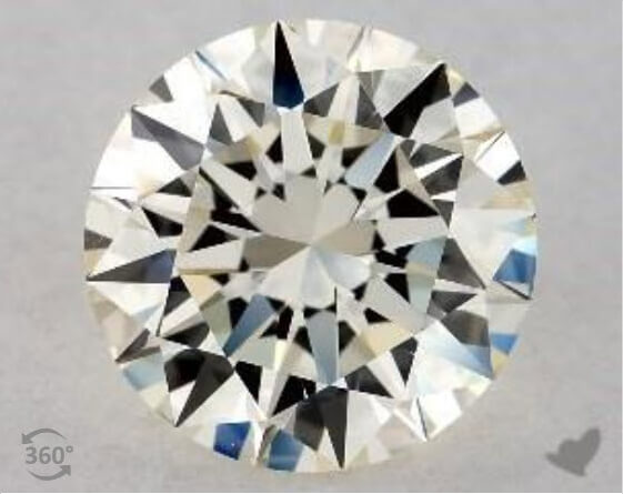 M Diamond Color, Excellent Cut