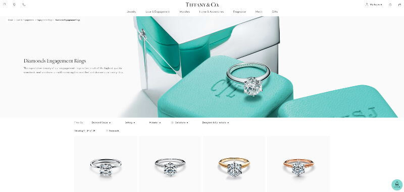 Tiffany 2 Carat Engagement Rings