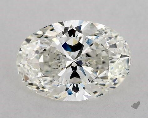 2 Carat Oval Diamond H VS2 for $16,750