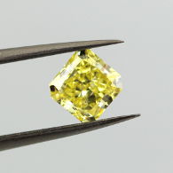 SI2 inclusion in a Yellow Diamond