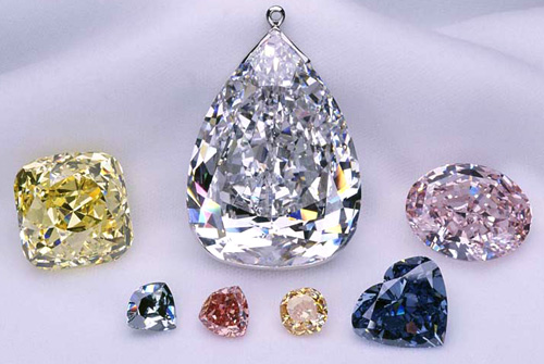 The Allnatt Diamond Naturally Colored