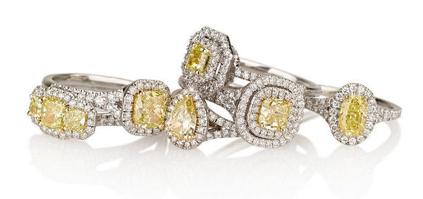 Yellow Diamond Engagement Rings Collection