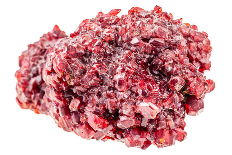 Ruby Gemstone in the Rough