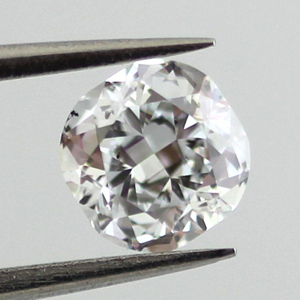 Faint Blue Diamond, Cushion, 0.53 carat, SI1 - B