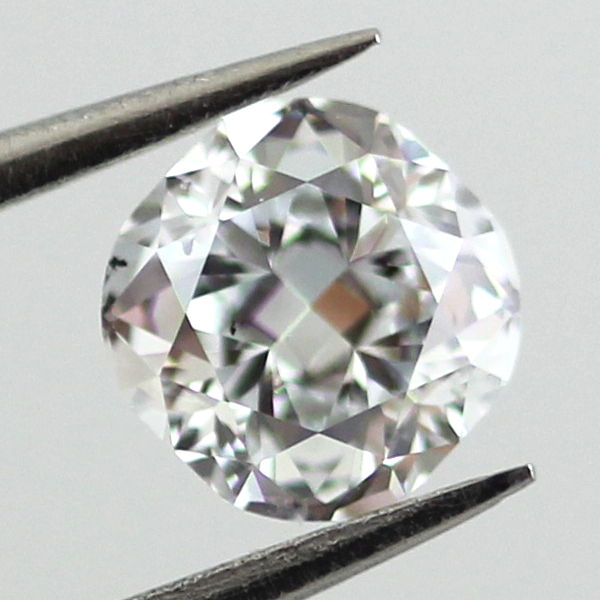 Faint Blue Diamond, Cushion, 0.53 carat, SI1