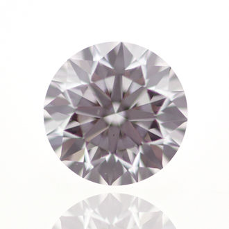 Faint Pink Diamond, Round, 0.40 carat, VS2