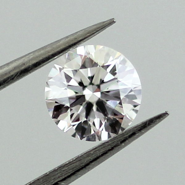 Faint Pink Diamond, Round, 0.32 carat, SI1