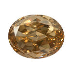 Fancy Brown Orange, 1.02 carat, SI1