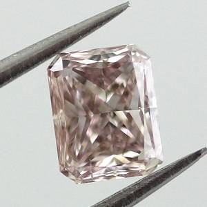 Fancy Brown Pink, 0.52 carat, SI1