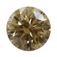 Fancy Brown Yellow, 0.50 carat, VS2