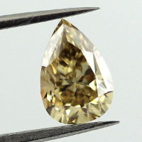 Fancy Brown Yellow, 1.16 carat, VS1
