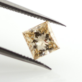 Fancy Brown Yellow, 0.57 carat, VS1