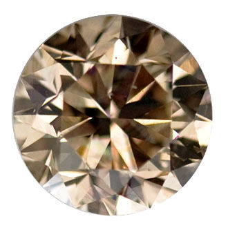 Brown Diamond Fancy Brown 3 09 Carat Si1 Id 1451