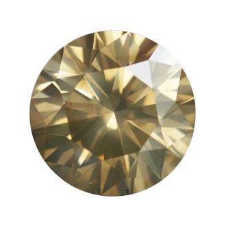 Fancy Brownish Greenish Yellow, 1.55 carat