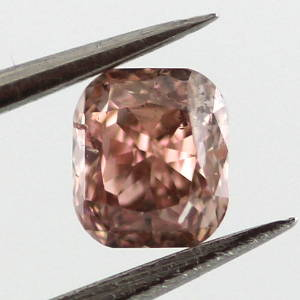 Fancy Brownish Orangy Pink, 0.29 carat