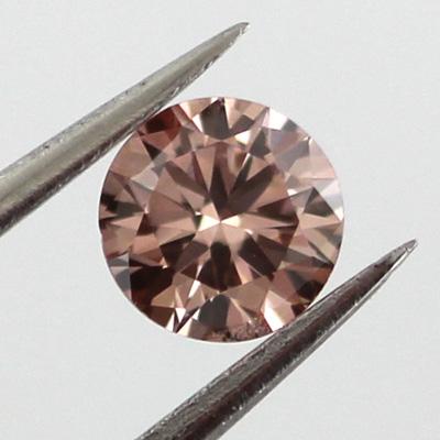 Fancy Brownish Orangy Pink, 0.27ct, VS1