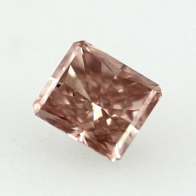 Fancy Brownish Orangy Pink, 0.26ct, VS2