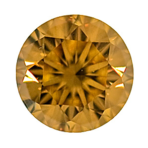 Fancy Brownish Orangy Yellow, 0.55ct, SI1