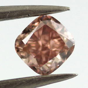 Fancy Brownish Orangy pink, 0.33ct, VVS2